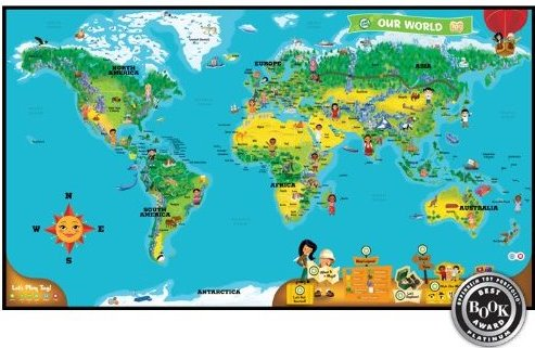Review leapfrog tag world map activity board game my oldest lucas who is 4 absolutely loves his leapfrog tag he is always listening to his books in the car using the tag pen reading with the tag pen or gumiabroncs Images