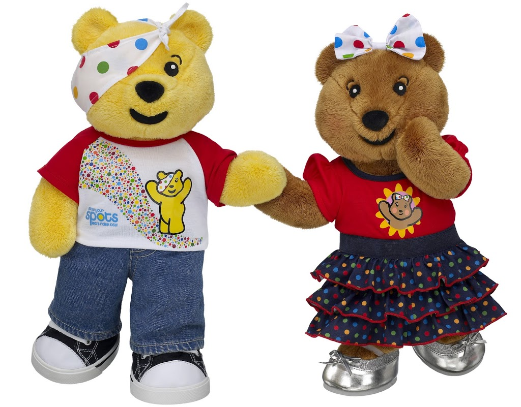 Build A Bear Pudsey Onesie