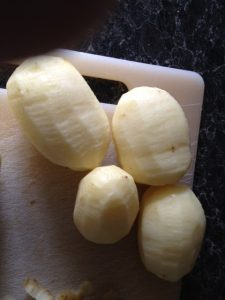 Peeled Tatties