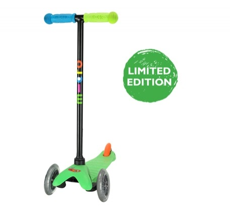 Limited edition mini micro scooter.