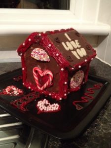 Valentines Gingerbreadhouse