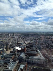 View from Blackpool Tower