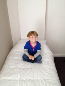 Boy On a Bed