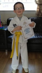 Taekwondo Yellow Belt