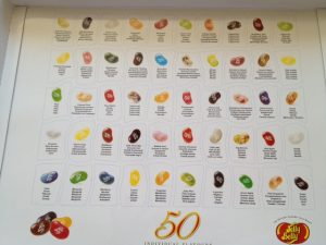 Jelly Belly Flavours