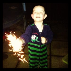 Sparklers and Jammies