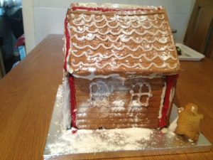 Santa's Gingerbread House
