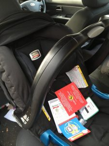 Babysafe car seat