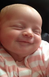 Smiley 2 week old