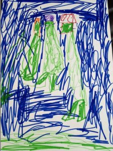 Picture by 4 year old