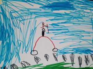 Summer Picture by 6 Year Old