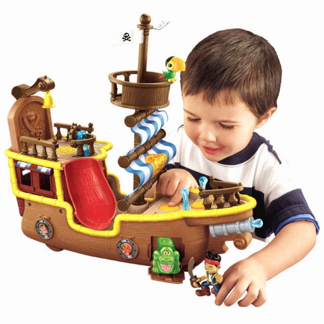 Pirate Toys For Boys : Review fisher price jake and the never land pirates toys