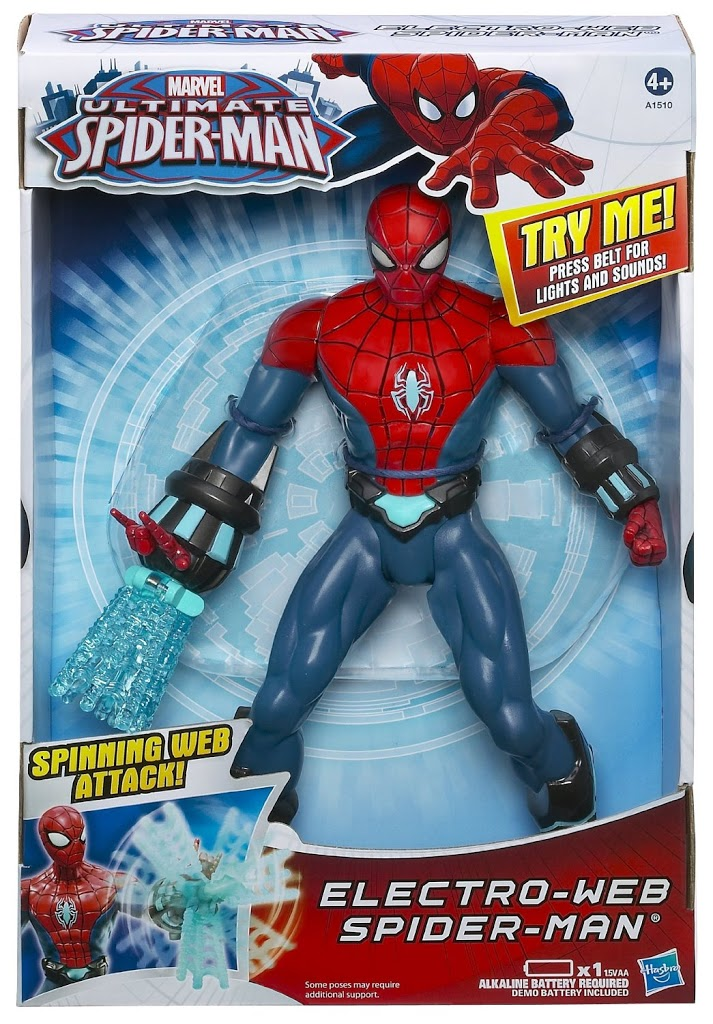 Spiderman 10-inch Electro Web Spiderman