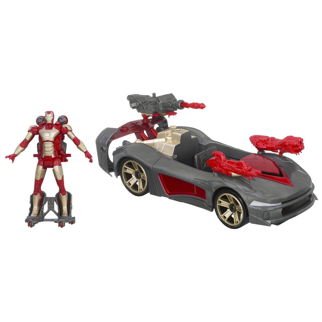 Marvel Iron Man 3 Avengers Assemblers Battle Vehicle