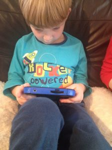 Playing the Nintendo 2DS