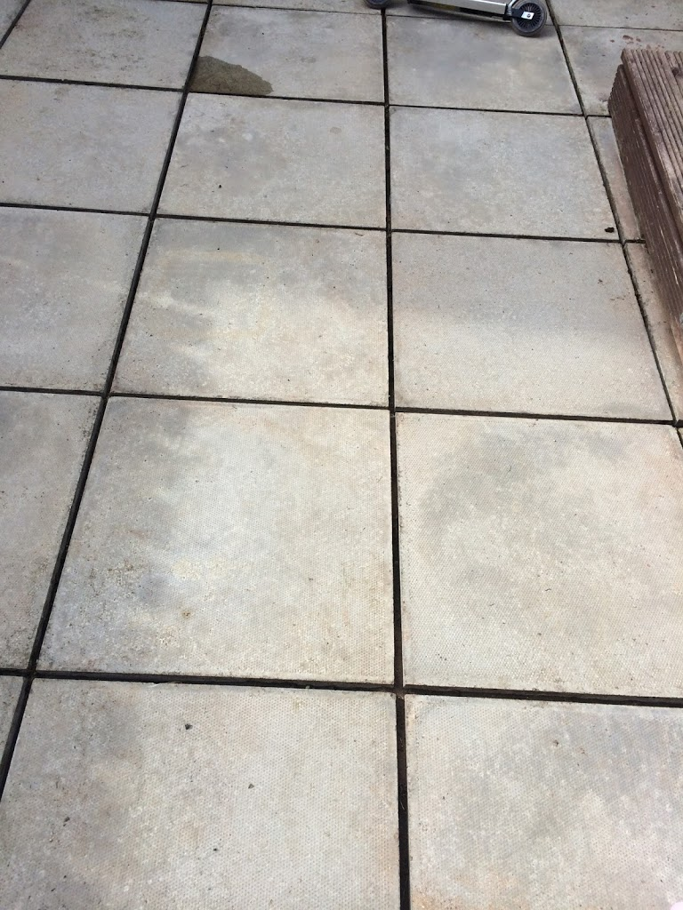 Cleaned Patio Slabs