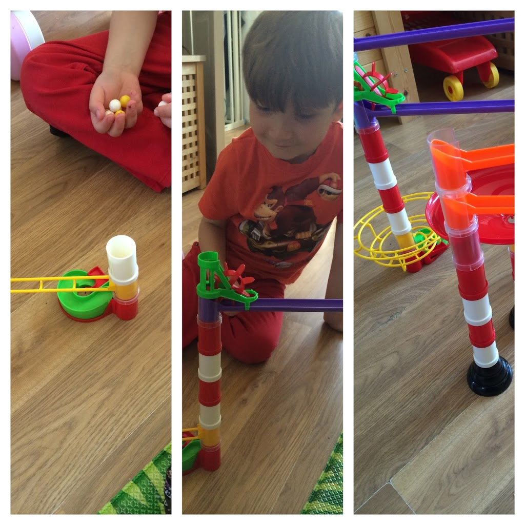 Building Marble Run