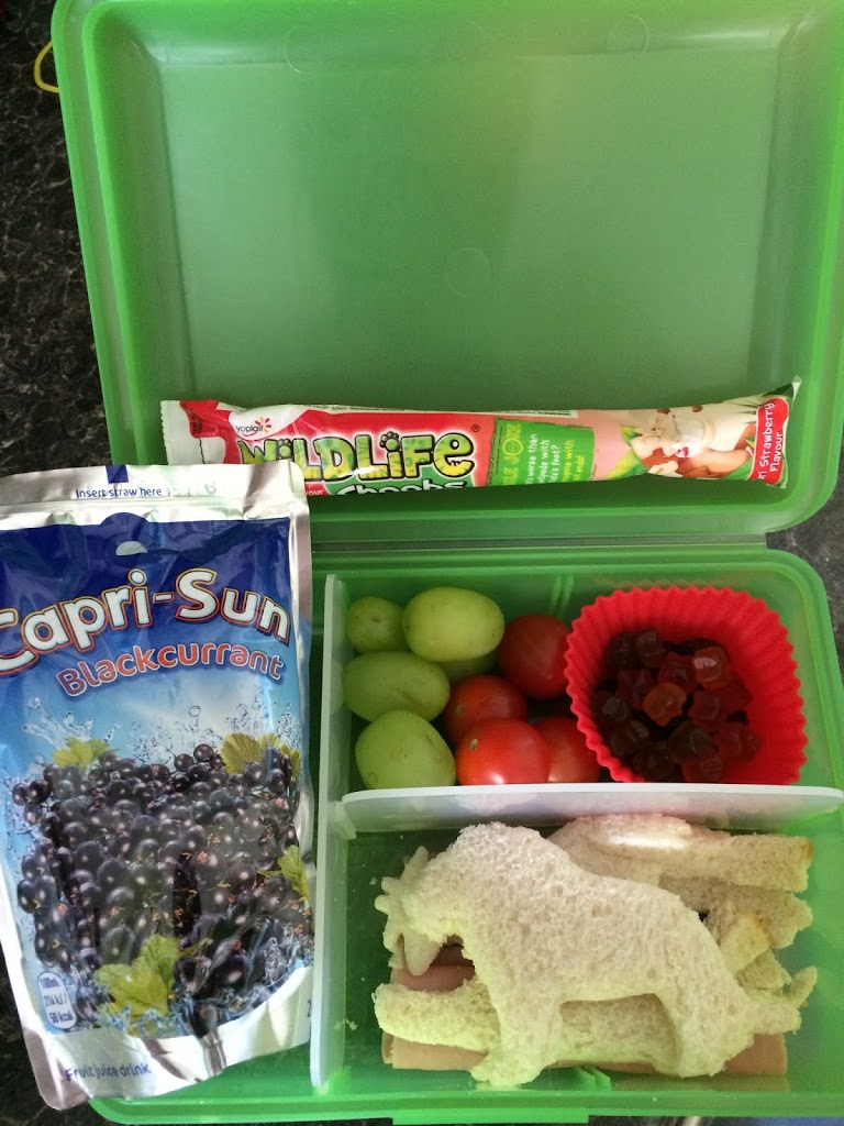 Capri-Sun Bento Lunch