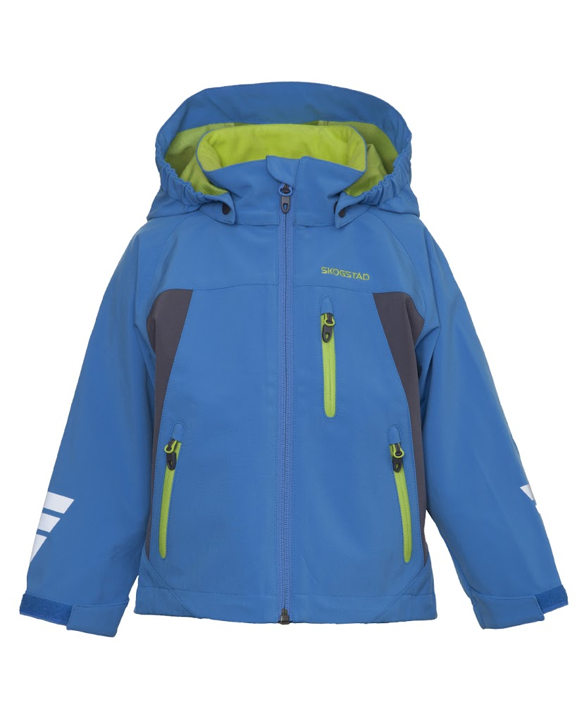 Risk Boy's Softshell Jacket Sky Blue