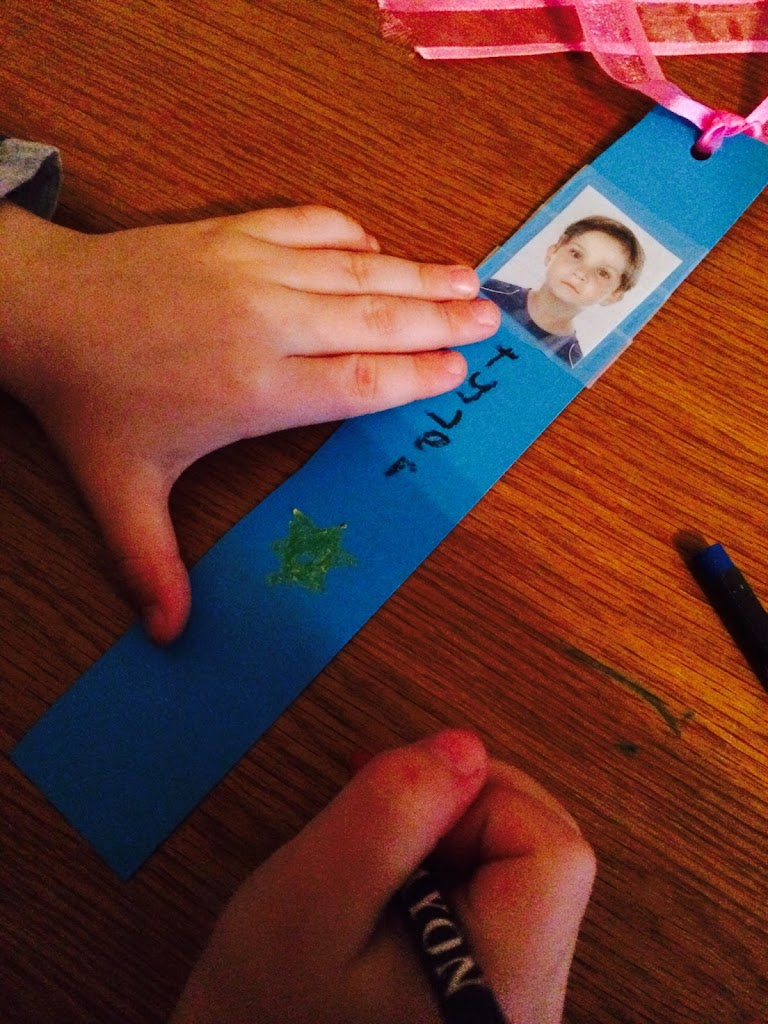 Decorating Bookmark