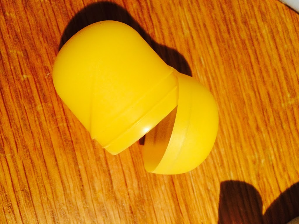 Kinder Egg Shell for Minion