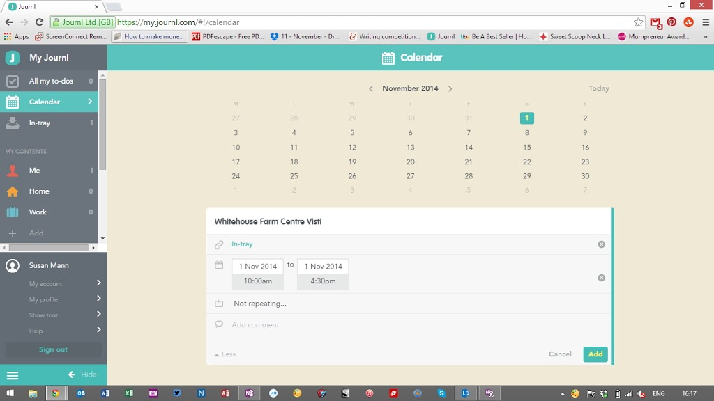 Journal Web App