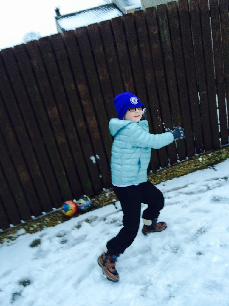Snowball Throwing