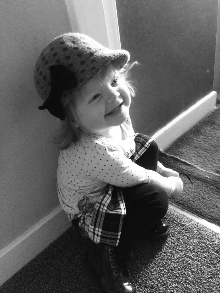 Black and White Toddler